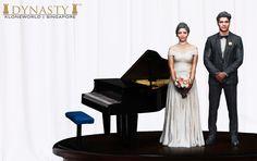 Full Figure Western Wedding Klones
