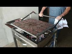 Custom Bbq Grills, Custom Bbq Pits, Barbecue Four A Pizza, Barbecue Grill, Grilling, Outdoor Kitchen Patio, Outdoor Stove, Barbecue Machine, Diy Bar Stools