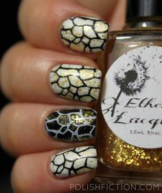 Ethereal Lacquer Opulence and some stamping nail art