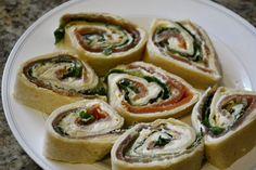 Smoked Salmon Tortilla Roll-up