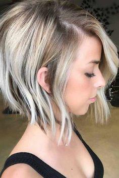 Beautiful Blonde Short Bob Haircuts Picture 3