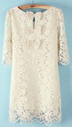 Lace + Bows Dress