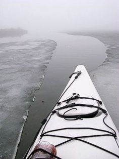 Be safe out there! Winter kayaking tips