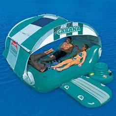 Sportsstuff Cabana Islander Inflatable Six Person Lounge