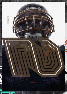 Non-Format – Gridiron, custom typeface family commissioned by ESPN magazine for their 2013 College Football Preview issue