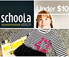 Give back to schools and save with Schoola. Sign up now for a FREE $15 credit, enough to get a free kids' clothing item.