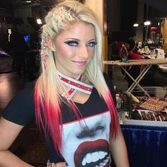 Alexa Bliss Looking Gorgeous Backstage Jessica Jones, Wwe Raw Women, Alexis Bliss, Nxt Divas, Total Divas, Lexi Kaufman, Wwe Female Wrestlers, Raw Women's Champion, Charlotte Flair