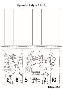 Boże Narodzenie - obrazki, ćwiczenia, kolorowanki, szablony - Pani Monia