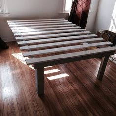 """Acquire fantastic suggestions on """"murphy bed ideas ikea apartment therapy"""". They are offered for you on our website. Platform Bed Plans, Queen Size Platform Bed, Dyi Beds, Tall Bed Frame, Bed Frames, Apartment Therapy, Murphy-bett Ikea, Wood Pallet Beds, Bricolage"""