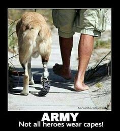 Army-- not all heroes wear capes