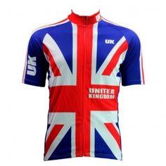 Top UK Flag color SportsWear Mens Cycling Jersey Cycling Clothing Bike  Shirt Size TO MTB jerseys Racing Bike Clothing dabeeabc8