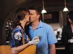 Emily Deschanel, David Boreanaz, Bones