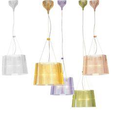 Kartell - Ge Transparent Pendant Lamp. Love Kartell! Maybe in the hallways?