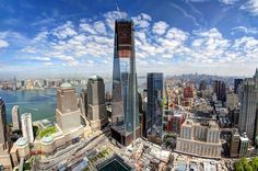 One World Trade Center Surpasses Empire State Building -- At a height of just over 1,250 feet, the new One World Trade Center is now New York City's tallest building!