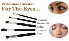 Mineral Makeup Eye Shadow Brushes #mineralmakeup #nontoxic #ygyclub