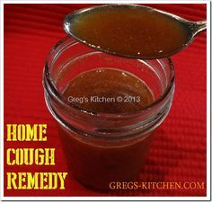 """So here is Debbie's """"Home Cough Remedy"""" Ingredients: 4 tablespoons honey 4 tablespoons apple cider vinegar 1/2 teaspoon cayenne pepper ..."""