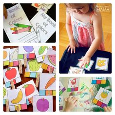 Do you ever use learning printables with your kids?   Fun and Free Preschool Printables From Life Over C's at B-Inspired Mama