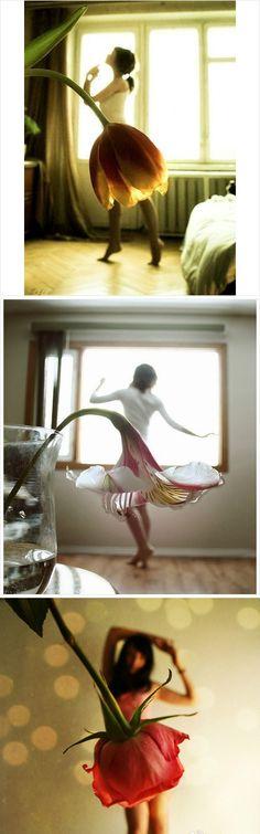 skirt, flower dresses, art, dance photos, flower fairies