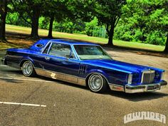 0981 Lincoln Mark VI House Of Kolor Kandy Blue