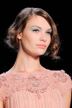 The Top Spring 2014 Makeup Trends: Featured Pastel Wash of Color at Badgley Makeup Trends 2014, 2014 Trends, Beauty Trends, Hair Trends, Beauty Tips, Runway Hair, Runway Makeup, Rachel Zoe, Pastel Eyeshadow