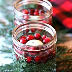 5 Minute Easy Christmas Luminaries