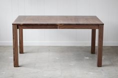 Hey, I found this really awesome Etsy listing at https://www.etsy.com/listing/118874041/parsons-dining-table-solid-walnut