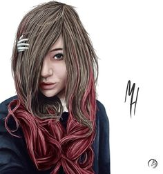 Colour Realism Portrait of my good friend Hayley #girl #art #realism #portrait #pretty #beautiful #lady #woman #colour