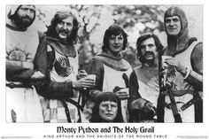 Monty Python and the Holy Grail 24x36 Movie Poster (1975)