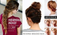 20 Easy Elegant Step-by-Step Hair Tutorials for Long & Medium Hair