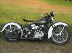 1937 EL Knucklehead Harley-Davidson Knucklehead