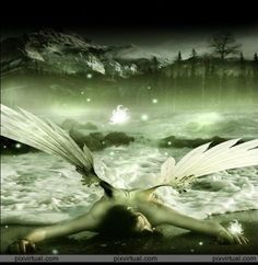 angels... fallen angels... we all fall, it's what we do when we get back up..
