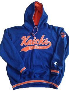b635bcc62 Vintage New York Knicks 90s NBA Hoodie