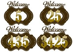 House Numbers and Ornaments Plaques - DXF files Cut Ready CNC Designs – DXFforCNC.com,  It is magic elements of your garden and house decor. These files contain collection of 10 numbers and 16 ornaments plaques for up to 4 numbers of house address delivered in dxf files cut ready cnc designs. All our dxf designs are ready for most CNC cutting machine and designed to be cut for plasma and laser cutters and can be scaled for any other CNC machine such as water jet cutters to any size to fit…