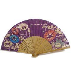 folding fan of Totoro