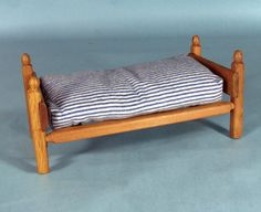 Strombecker doll bed with mattress for Ginny by marygardenart, $39.95