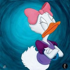 "Daisy Duck - ""The Lady Will Have None Of It"" by Stephen Reis"