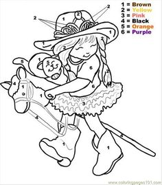 how to draw cowgirl sheets little girl coloring 14 - Cowgirl Pictures To Color