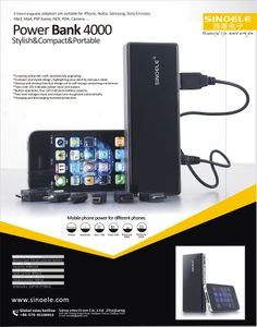 Sino Electron specially developed series of portable mobile power to solve the troubles of mobile power shortage, which greatly enhance your quality of life.  http://www.loveinfographics.com/categories/mobile-phone-and-tablet-computing-infographics/use-of-power-bank-in-today-digital-life-infographic