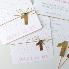 This double sided confetti design invitation is one of my best selling invites!  Universal enough that it can be used for a birthday or baptism, and the look can be changed completely by the embellishment used to finish.Available in a range of colours to suit both boys and girls, it would even be beautiful for an engagement invitation.Printed on high quality felt card stock and comes with a 13cm kraft paper envelope.** Please note the following before placing your order ...
