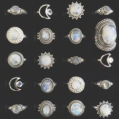 Jewelry Rings empty-casket: Lots of your favourite rings are back in stock! Here's just some of our sterling silver Cute Jewelry, Boho Jewelry, Jewelry Box, Jewelry Rings, Silver Jewelry, Jewelry Accessories, Jewelry Design, Jewlery, Silver Rings