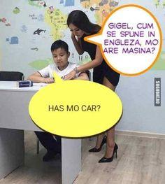 Gigel stie engleza!! - Sugubat