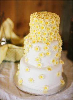 daisy wedding cake - is this your wedding cake mrs E?!!