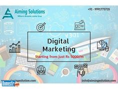 Aiming Solutions is a Best Digital Marketing Company in Dwarka, We are professional . Business ad on DomesticSale free classifieds. Best Digital Marketing Company, Business, Store, Business Illustration