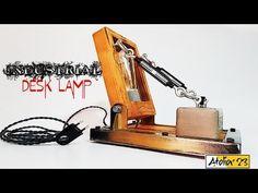 ind2 0 Industrial Desk, Vintage Industrial, Desk Lamp, Make It Yourself, Design, Industrial Table, Design Comics