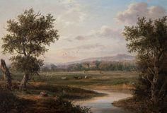 english landscape artists | An English Landscape - NigelRhodesFineArt.com