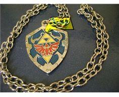 Legend of Zelda: shield necklace