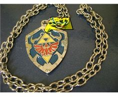 Legend of Zelda: shield necklace