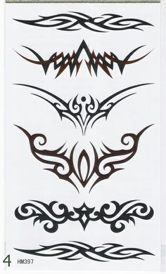 Lower back Tribal reference 1 Dorn Tattoo, Simbolos Tattoo, Arm Band Tattoo, Tattoo Drawings, Tribal Drawings, Thai Tattoo, Stammestattoo Designs, Stencil Designs, Designs To Draw