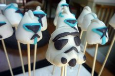 Cake pops - could use marshmallows...
