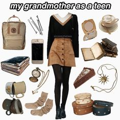 Lessons That Will Get You In The arms of The Man You love Retro Outfits, Cute Casual Outfits, Grunge Outfits, Fall Outfits, Vintage Outfits, Vintage Fashion, Hippie Outfits, Aesthetic Fashion, Look Fashion